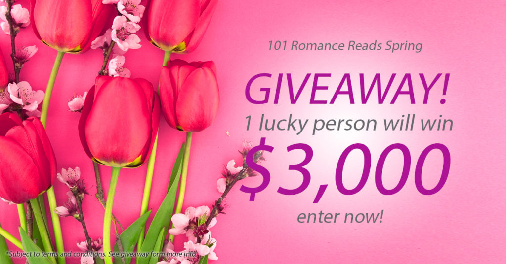 $3000 Spring Romance Book Giveaway