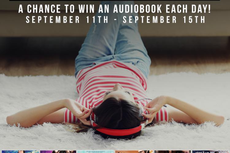 Audiobook Giveaways All Week