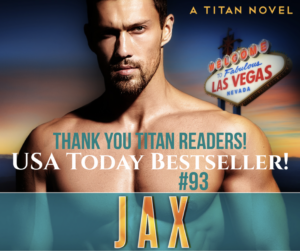 Jax #93 USA Today Bestselling Book