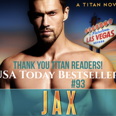 JAX is a USA Today Bestselling Book
